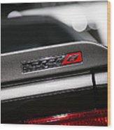 392 Hemi Dodge Challenger Srt Wood Print
