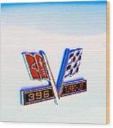 396 Turbo-jet Wood Print by Phil 'motography' Clark