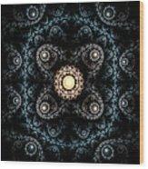 3d Abstract Carpet  Wood Print