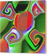3Pi Wood Print
