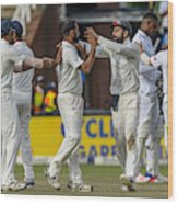 3rd Sunfoil Test: South Africa v India, Day 4 Wood Print