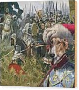 Chart Polski - Polish Greyhound Art Canvas Print Wood Print
