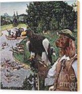 Irish Setter Art Canvas Print Wood Print