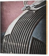 1935 Pontiac Sedan Hood Ornament Wood Print