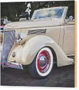 1936 Ford Cabriolet  Wood Print