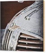 1938 Dodge Ram Hood Ornament Wood Print