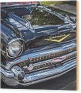 1957 Chevrolet Bel Air Wood Print