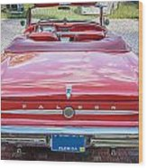1963 Ford Falcon Sprint Convertible  Wood Print by Rich Franco