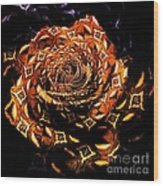 4 4 Echo Rose Wood Print