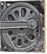 4-8-8-4 Wheel Arrangement Wood Print