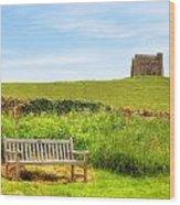 Abbotsbury Wood Print