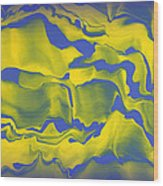 Abstract 106 Wood Print by J D Owen