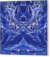 Abstract 44 Wood Print