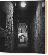 Alley Of Melancholy. Iseo Wood Print