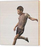 Anatomy Of Movement Child Wood Print