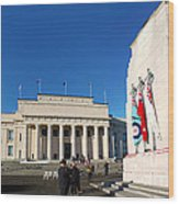 Anzac Day 2014 Auckland Wood Print