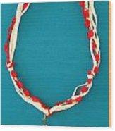 Aphrodite Genetyllis Necklace Wood Print
