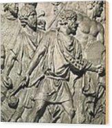 Apollodorus Of Damascus 60-129. Column Wood Print