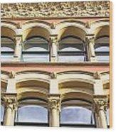 Arch Windows Wood Print