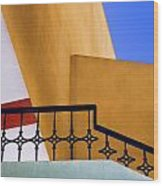 Architectural Detail Wood Print