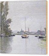 Argenteuil Wood Print by Claude Monet