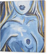 Art Nude Wood Print