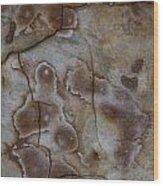 Art Rock Wood Print
