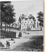 Battle Of Germantown, 1777 Wood Print