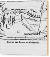 Battle Of Monmouth, 1778 Wood Print
