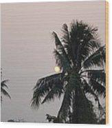 Beautiful Evening Wood Print by Gornganogphatchara Kalapun