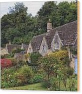 Bibury Wood Print