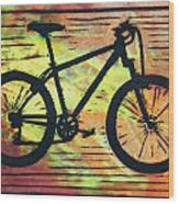 Bike 10 Wood Print by William Cauthern