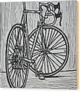 Bike 4 Wood Print by William Cauthern