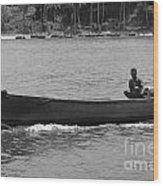 Boat  Wood Print by Bobby Mandal