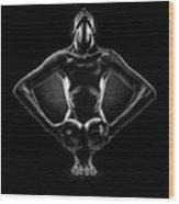 Bodies Wood Print