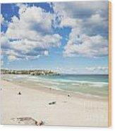 Bondi Beach In Sydney Australia Wood Print