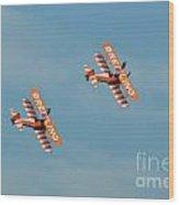 Breitling Wingwalkers Team Wood Print