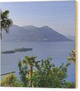 Brissago Islands Wood Print