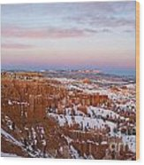 Bryce Canyon National Park Utah Wood Print