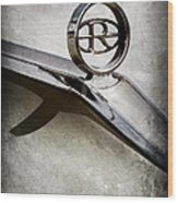 Buick Riviera Hood Ornament  Wood Print