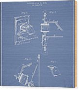 Camera Obscura Patent Drawing From 1881 Wood Print by Aged Pixel