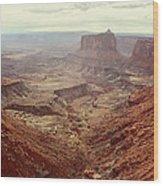 Canyonlands National Park In Utah Wood Print