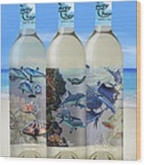 Carey Chen Fine Art Wines Wood Print