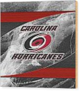 Carolina Hurricanes Wood Print