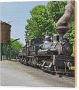 Cass Scenic Railroad Wood Print