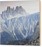 Charming Dolomites Wood Print