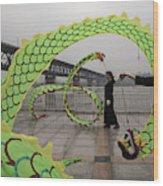 China Daily Life Wood Print