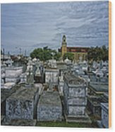 City Of The Dead - New Orleans Wood Print