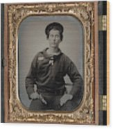 Civil War Sailor, C1863 Wood Print