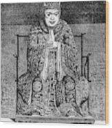 Confucius (c551-479 B Wood Print